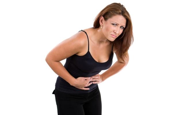 درد شدید در ناحیه شکم یا مقعد دارید