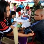 معاینات ابتدایی در روز جهانی عقیم سازی مردان یا ماراتون وازکتومی در جزیره بالی