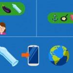 ایموجی کاندوم، عرضه شده از سوی شرکت دوراکس به مناسبت روز جهانی ایدز